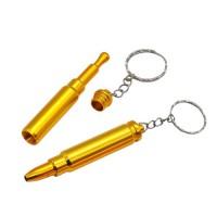 Трубка для курения в форме пули и брелка